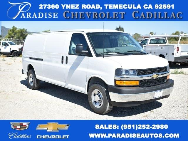2020 Chevrolet Express 3500 4x2, Adrian Steel Upfitted Cargo Van #M20280 - photo 1