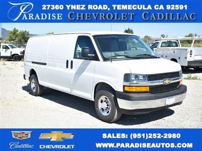 2020 Chevrolet Express 3500 4x2, Adrian Steel Upfitted Cargo Van #M20280 - photo 1