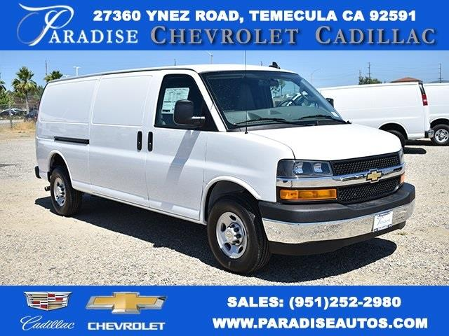 2020 Chevrolet Express 3500 4x2, Adrian Steel Upfitted Cargo Van #M20284 - photo 1