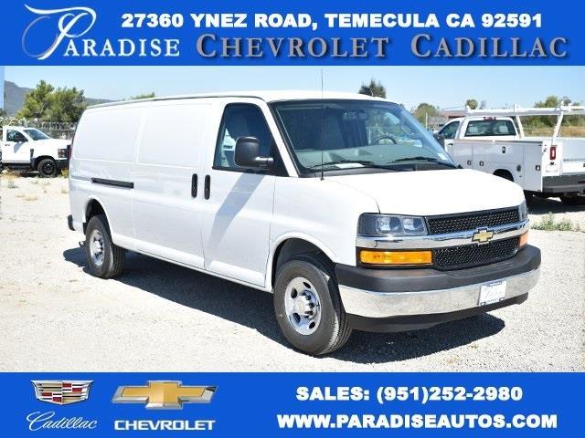 2020 Chevrolet Express 3500 4x2, Adrian Steel Upfitted Cargo Van #M20323 - photo 1