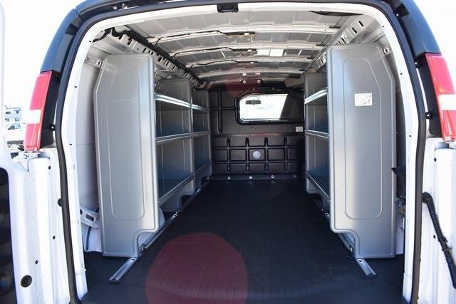 2020 Chevrolet Express 3500 4x2, Adrian Steel Upfitted Cargo Van #M20323 - photo 2