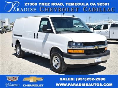 2020 Chevrolet Express 2500 4x2, Adrian Steel Upfitted Cargo Van #M20334 - photo 1