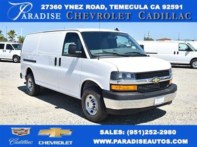 2020 Chevrolet Express 2500 4x2, Commercial Van Interiors Upfitted Cargo Van #M20360 - photo 1