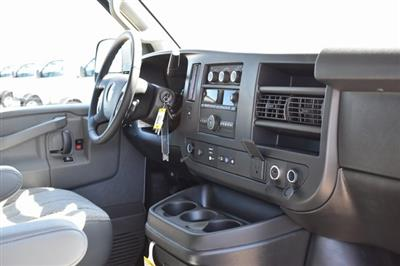 2020 Chevrolet Express 2500 4x2, Commercial Van Interiors Empty Cargo Van #M20362 - photo 9