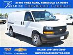 2020 Chevrolet Express 2500 4x2, Commercial Van Interiors Empty Cargo Van #M20362 - photo 1