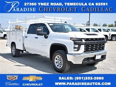 2020 Chevrolet Silverado 3500 Crew Cab 4x2, Harbor TradeMaster Utility #M20368 - photo 1