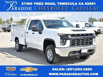 2020 Chevrolet Silverado 2500 Double Cab 4x4, Harbor TradeMaster Utility #M20399 - photo 1