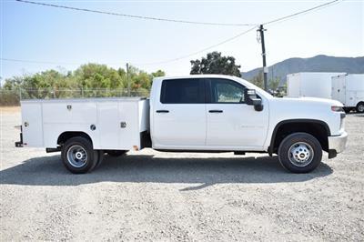 2020 Chevrolet Silverado 3500 Crew Cab DRW 4x4, Harbor TradeMaster Utility #M20402 - photo 3