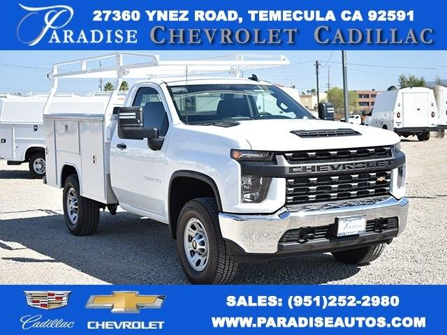 2020 Chevrolet Silverado 3500 Regular Cab 4x4, Harbor Utility #M20429 - photo 1