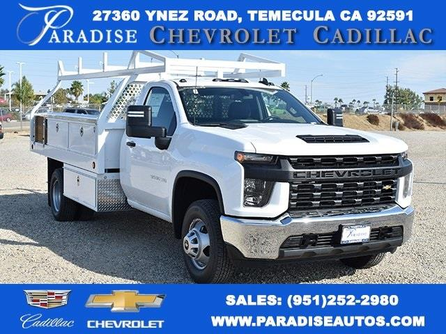 2020 Chevrolet Silverado 3500 Regular Cab DRW 4x2, Royal Contractor Body #M20437 - photo 1