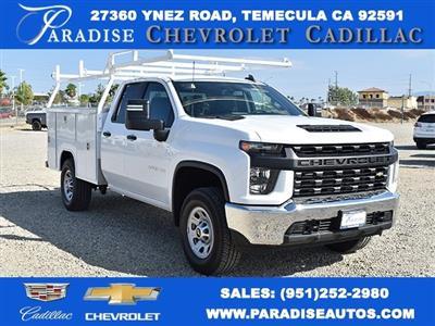 2020 Chevrolet Silverado 3500 Double Cab 4x2, Harbor TradeMaster Utility #M20440 - photo 1