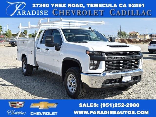 2020 Chevrolet Silverado 3500 Double Cab 4x2, Harbor TradeMaster Utility #M20444 - photo 1