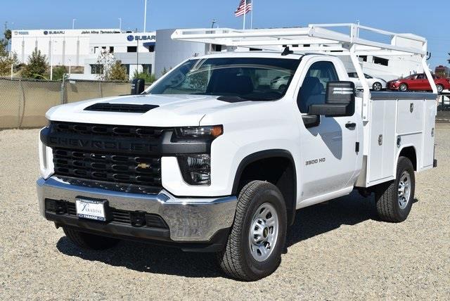 2020 Chevrolet Silverado 3500 Regular Cab 4x4, Harbor TradeMaster Utility #M20476 - photo 4