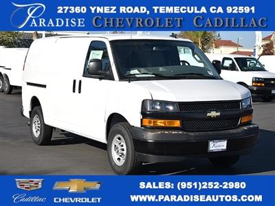 2020 Chevrolet Express 2500 4x2, Masterack Upfitted Cargo Van #M20489 - photo 1