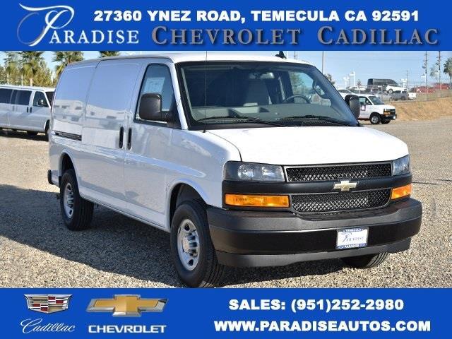 2020 Chevrolet Express 2500 4x2, Masterack Upfitted Cargo Van #M20493 - photo 1