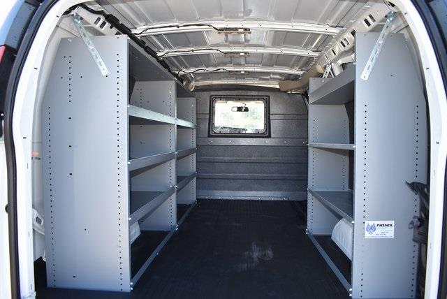 2020 Chevrolet Express 2500 4x2, Masterack Upfitted Cargo Van #M20495 - photo 2