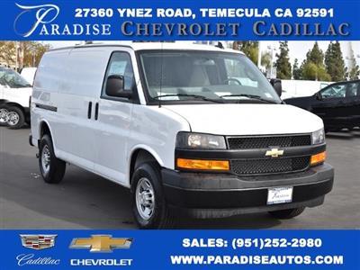 2020 Chevrolet Express 2500 4x2, Masterack Upfitted Cargo Van #M20496 - photo 1