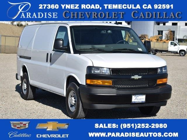 2020 Chevrolet Express 2500 4x2, Masterack Upfitted Cargo Van #M20497 - photo 1
