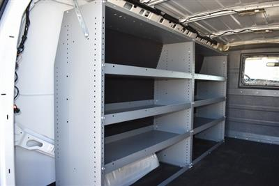 2020 Chevrolet Express 2500 4x2, Masterack Upfitted Cargo Van #M20497 - photo 3