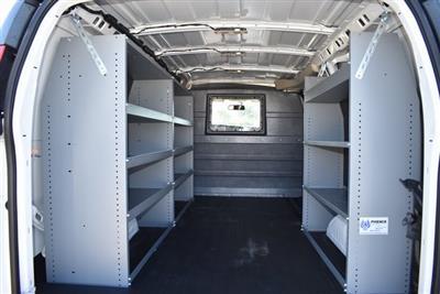 2020 Chevrolet Express 2500 4x2, Masterack Upfitted Cargo Van #M20498 - photo 2