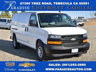 2020 Chevrolet Express 2500 4x2, Masterack Upfitted Cargo Van #M20507 - photo 1