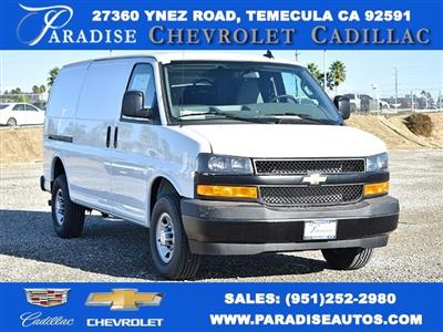 2020 Chevrolet Express 2500 4x2, Masterack Upfitted Cargo Van #M20511 - photo 1