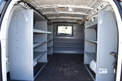 2020 Chevrolet Express 2500 4x2, Masterack Upfitted Cargo Van #M20511 - photo 2
