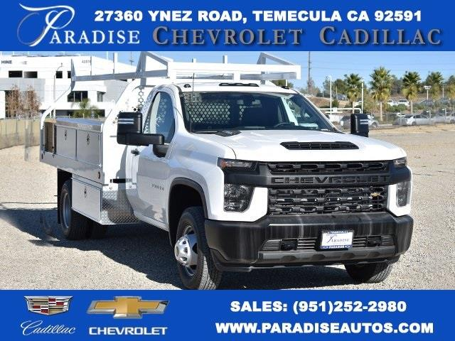 2020 Chevrolet Silverado 3500 Regular Cab DRW 4x2, Royal Contractor Body #M20523 - photo 1