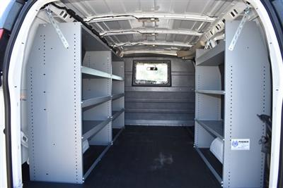 2020 Chevrolet Express 2500 4x2, Masterack Upfitted Cargo Van #M20549 - photo 2