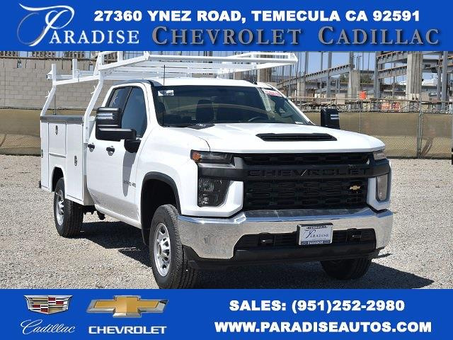 2020 Chevrolet Silverado 2500 Double Cab 4x2, Harbor Service Body #M20573 - photo 1