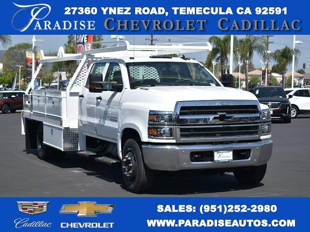 2020 Chevrolet Silverado 5500 Crew Cab DRW 4x2, Scelzi Contractor Body #M20600 - photo 1