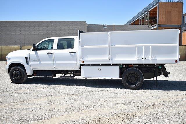 2020 Chevrolet Silverado 5500 Crew Cab DRW 4x2, Scelzi Landscape Dump #M20601 - photo 5