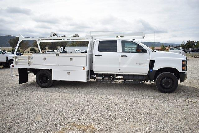 2020 Chevrolet Silverado 6500 Crew Cab DRW 4x2, Scelzi CTFB Contractor Body #M20628 - photo 8