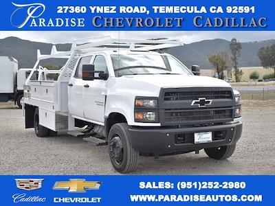 2020 Chevrolet Silverado 6500 Crew Cab DRW 4x2, Scelzi CTFB Contractor Body #M20628 - photo 1