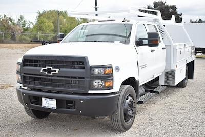 2020 Chevrolet Silverado 6500 Crew Cab DRW 4x2, Scelzi CTFB Contractor Body #M20628 - photo 4