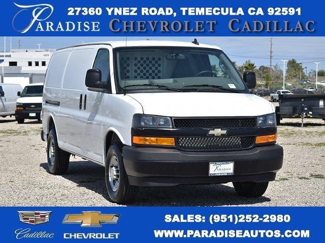 2020 Chevrolet Express 2500 4x2, Harbor Upfitted Cargo Van #M20633 - photo 1