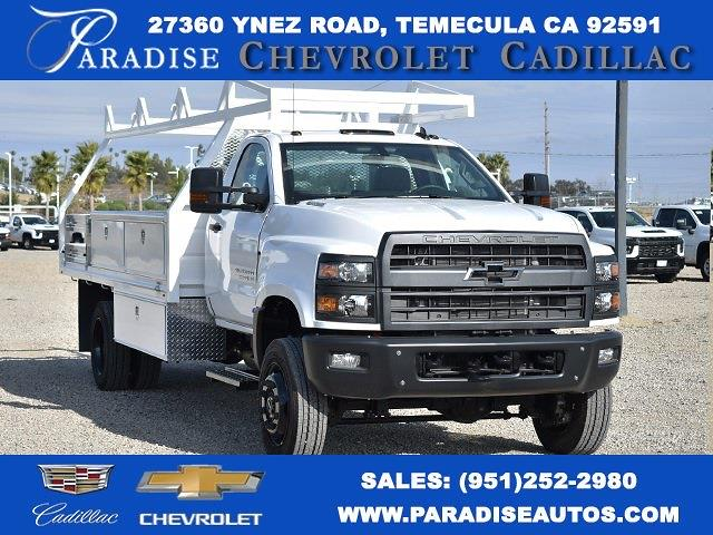 2020 Chevrolet Silverado 5500 Regular Cab DRW 4x4, Martin Contractor Body #M20974 - photo 1