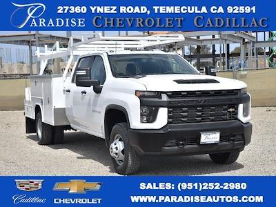 2021 Chevrolet Silverado 3500 Crew Cab 4x2, Harbor ComboMaster Combo Body #M21042 - photo 1