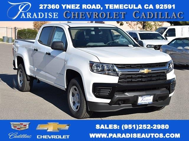 2021 Chevrolet Colorado Crew Cab 4x4, Pickup #M21106 - photo 1