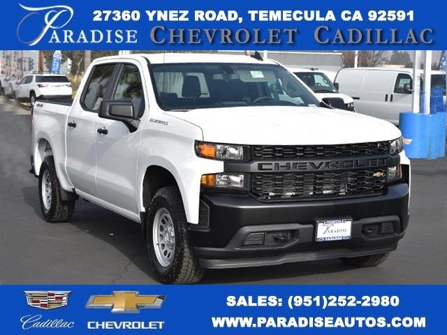 2021 Chevrolet Silverado 1500 Crew Cab 4x4, Pickup #M21123 - photo 1