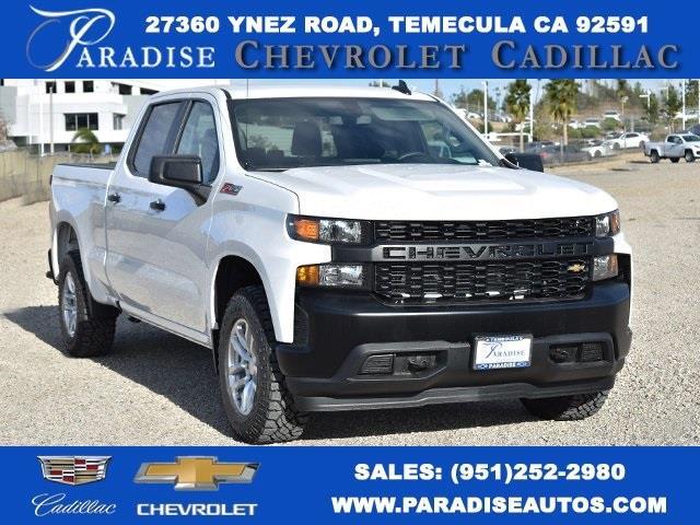 2021 Chevrolet Silverado 1500 Crew Cab 4x4, Pickup #M21126 - photo 1