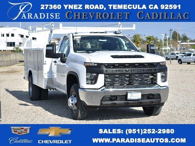 2021 Chevrolet Silverado 3500 Regular Cab 4x2, Royal Truck Body Utility #M21175 - photo 1