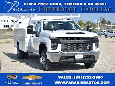 2021 Chevrolet Silverado 3500 Regular Cab 4x2, Royal Service Body Utility #M21175 - photo 1