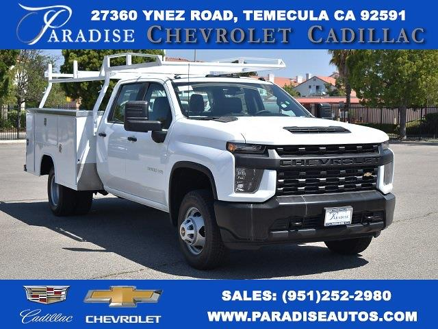 2021 Chevrolet Silverado 3500 Crew Cab 4x2, Harbor TradeMaster Utility #M21179 - photo 1