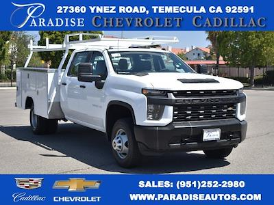 2021 Chevrolet Silverado 3500 Crew Cab 4x2, Harbor TradeMaster Utility #M21183 - photo 1