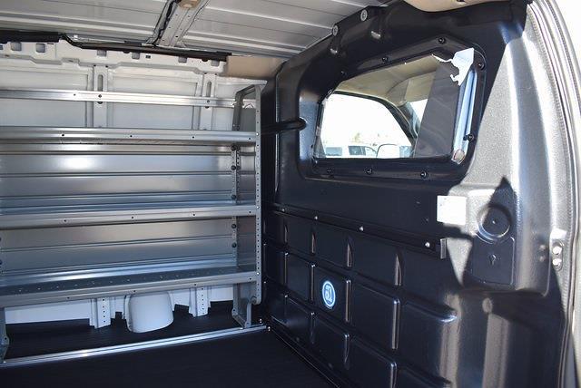 2021 Chevrolet Express 2500 4x2, Commercial Van Interiors Upfitted Cargo Van #M21192 - photo 12