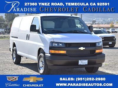 2021 Chevrolet Express 2500 4x2, Commercial Van Interiors Upfitted Cargo Van #M21192 - photo 1