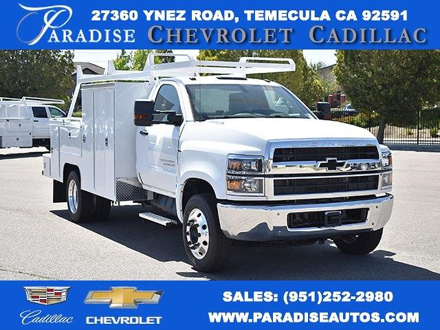 2021 Chevrolet Silverado 5500 Regular Cab DRW 4x2, Scelzi Signature Utility #M21220 - photo 1