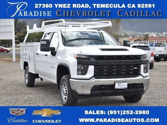 2021 Chevrolet Silverado 2500 Crew Cab 4x2, Scelzi Utility #M21256 - photo 1