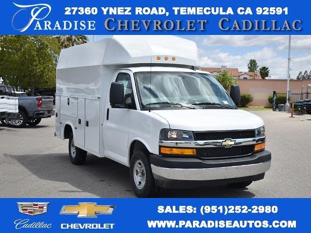 2021 Chevrolet Express 3500 4x2, Knapheide Plumber #M21334 - photo 1